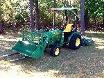 2OO8 JohnDeere 252O 4WD Loader